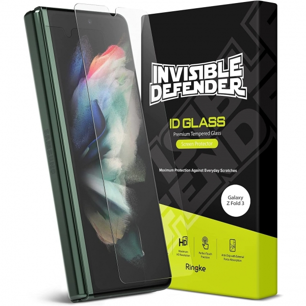 Ringke Samsung Galaxy Z Fold 3 Temperli Cam Ekran Koruyucu