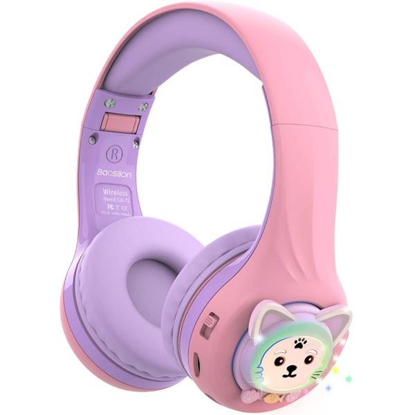 Riwbox CB-7S Çocuk İçin Katlanabilir Kulak Üstü Kulaklık