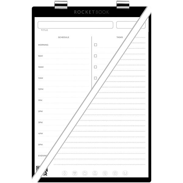 Rocketbook Orbit Günlük Planlayıcı Sayfa Paketi (Executive)
