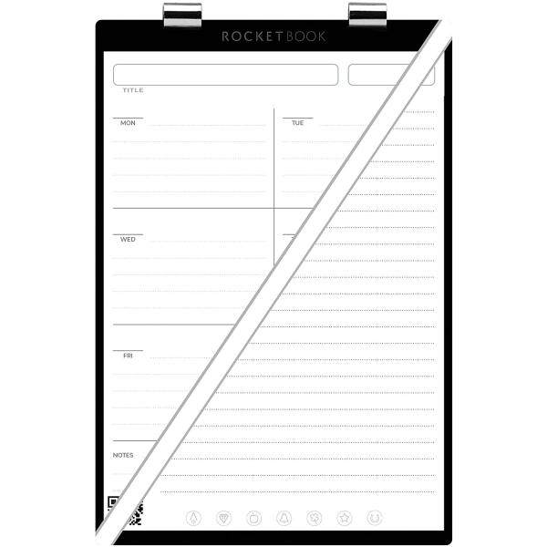 Rocketbook Orbit Haftalık Planlayıcı Sayfa Paketi (Executive)