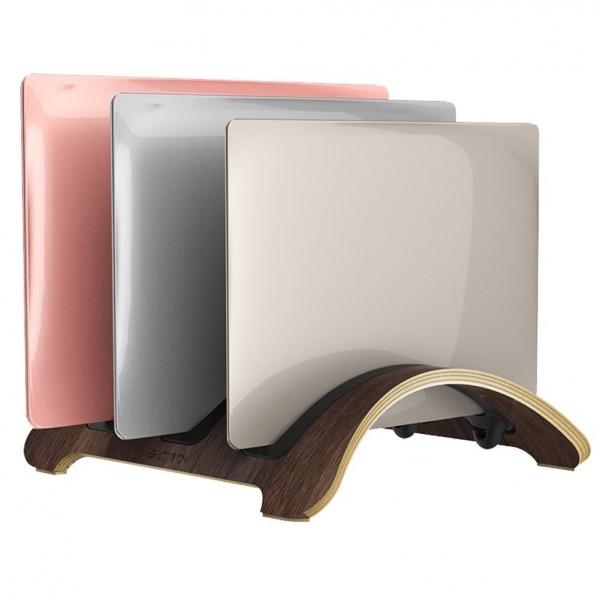 SAMDI 3 Bölmeli Macbook Standı