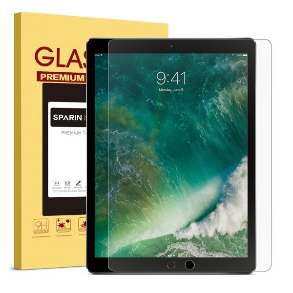 SPARIN iPad Pro 12.9 Temperli Cam Ekran Koruyucu (2015/2017)