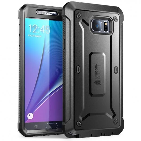 SUPCASE Samsung Galaxy Note 5 Unicorn Beetle PRO Serisi Kılıf