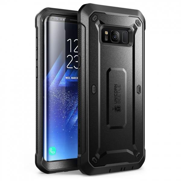 SUPCASE Samsung Galaxy S8 Plus Rugged Kemer Klipsli Kılıf (MIL-STD-810G)