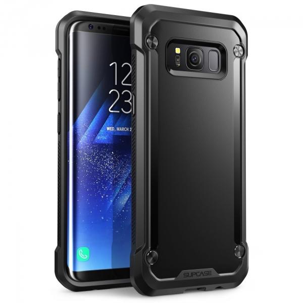 SUPCASE Samsung Galaxy S8 Plus Unicorn Beetle Serisi Şeffaf Kılıf