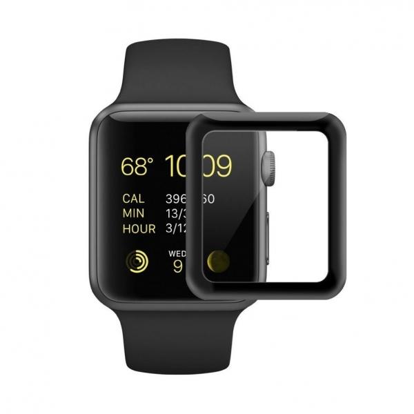 SUPTMAX Apple Watch Seri 3 Ekran Koruyucu (42mm) (Black)