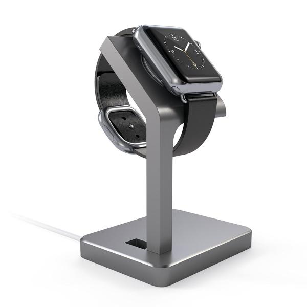 Satechi Apple Watch Serisi 1/2 Alüminyum Şarj Standı
