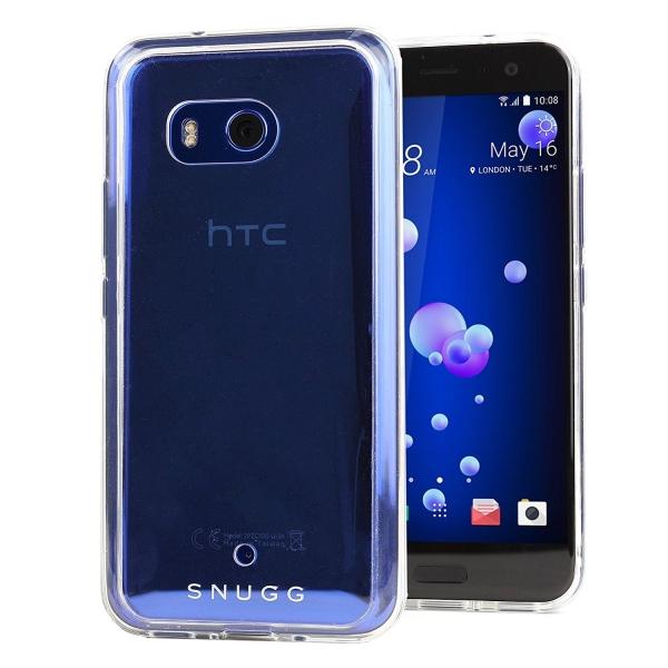 Snugg HTC U11 Clear Serisi Bumper Kılıf
