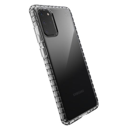 Speck Galaxy S20 Plus Presidio Perfect Şeffaf Kılıf (MIL-STD-810G)