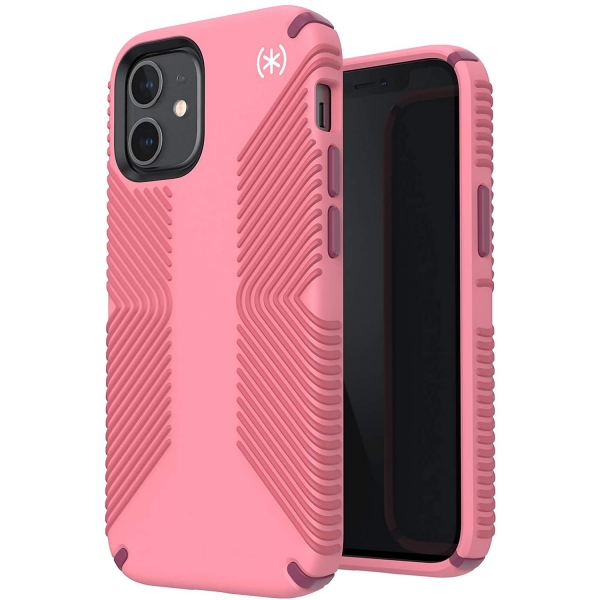 Speck iPhone 12 Mini Presidio2 Grip Serisi Kılıf (MIL-STD-810G)