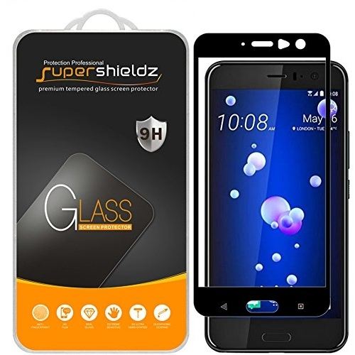 Supershieldz HTC U11 Temperli Cam Ekran Koruyucu (2 Adet)