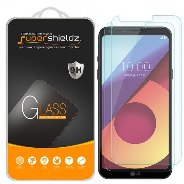 Supershieldz LG Q6 Temperli Cam Ekran Koruyucu (2 Adet)