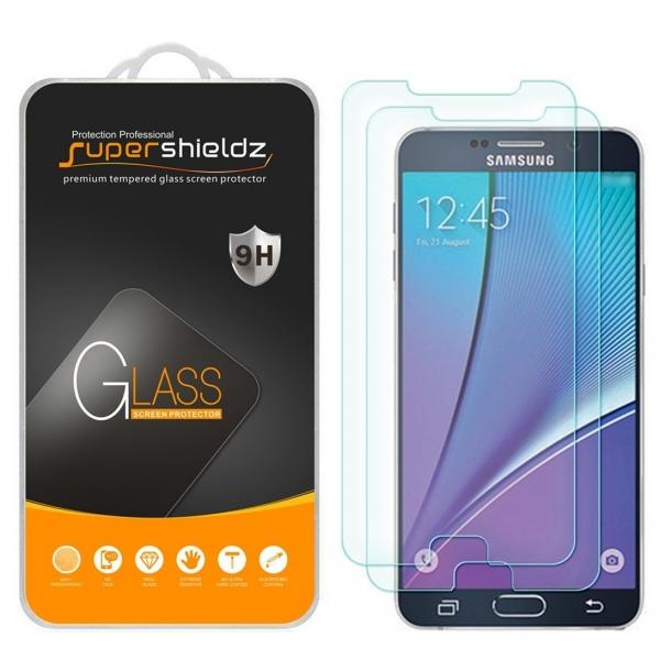 Supershieldz Samsung Galaxy Note 5 Temperli Cam Ekran Koruyucu (2 Adet)