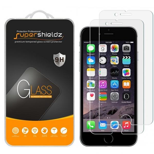 Supershieldz iPhone 7 Plus Temperli Cam Ekran Koruyucu (2 Adet)