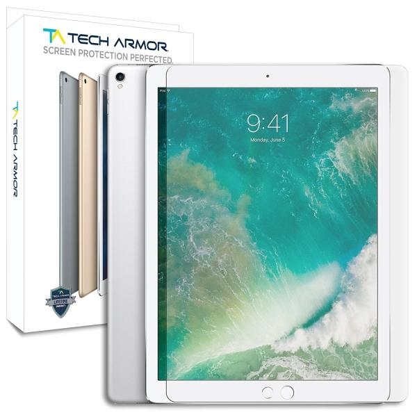 Tech Armor Apple iPad Pro Balistik Cam Ekran Koruyucu (12.9 inç)