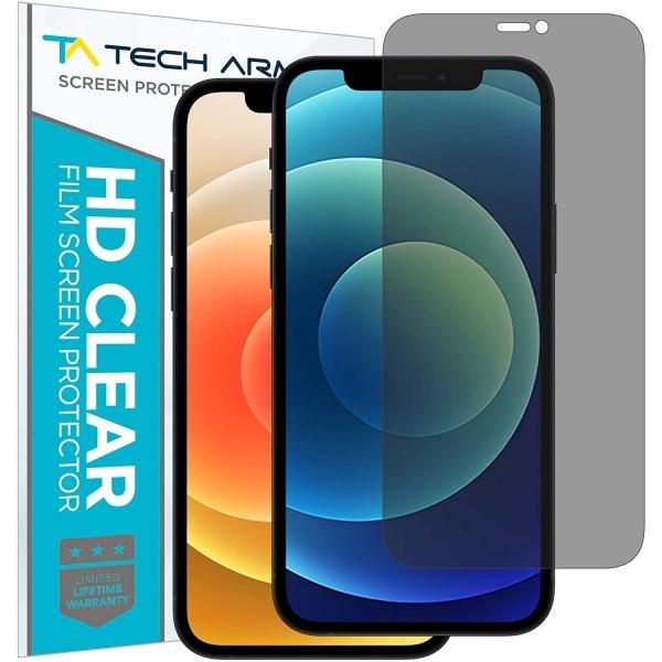 Tech Armor iPhone 12/12 Pro Privacy Cam Ekran Koruyucu