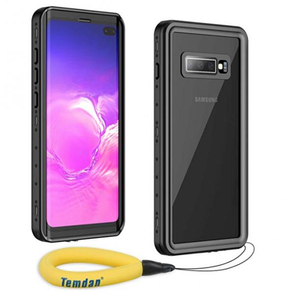 Temdan Samsung Galaxy S10 Plus Su Geçirmez Kılıf (MIL-STD-810G)