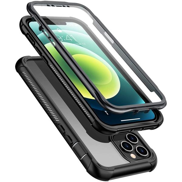 Temdan iPhone 12 Şeffaf Korumalı Kılıf