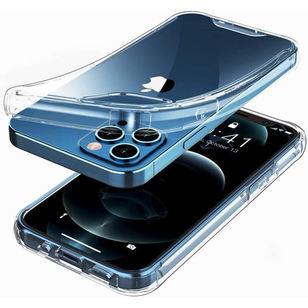 Temdan iPhone 12 Pro Max Şeffaf Kılıf
