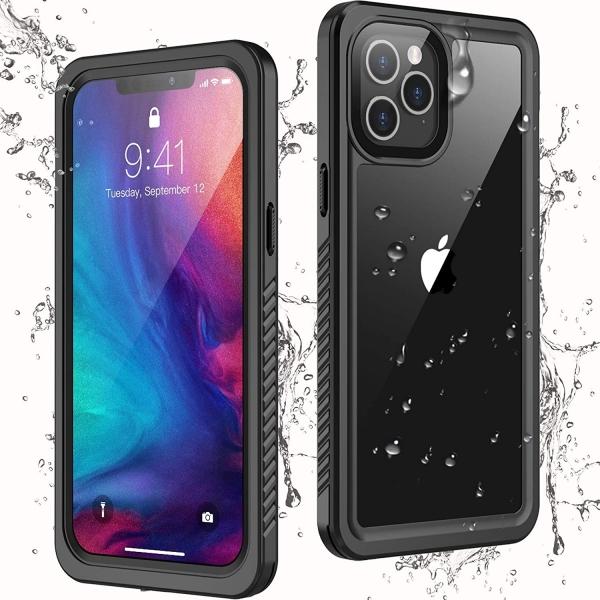 Temdan iPhone 12 Pro Max Su Geçirmez Kılıf (MIL-STD-810G)