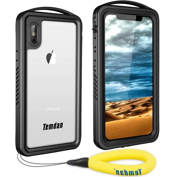 Temdan iPhone X Su Geçirmez Kılıf (MIL-STD-810G)