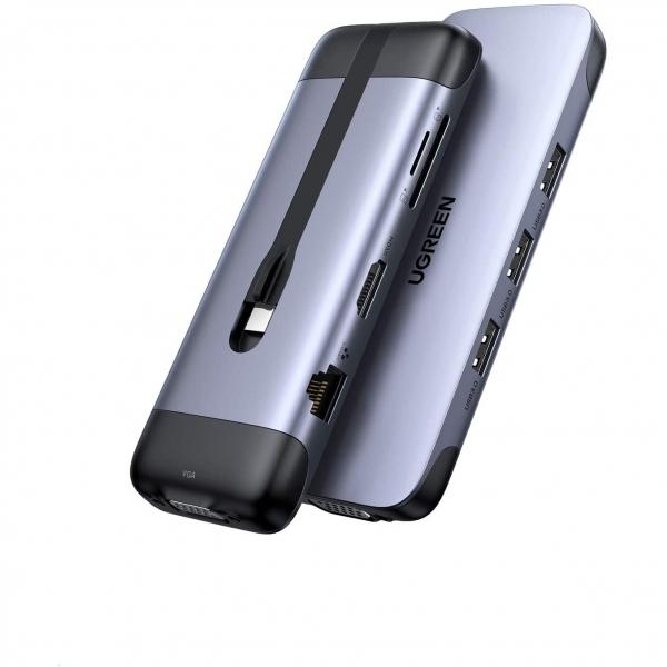 UGREEN USB C 9 Bağlantılı Hub Adaptör