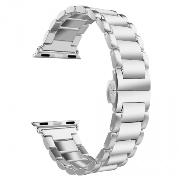UMTELE Apple Watch Paslanmaz Çelik Kayış (42mm)