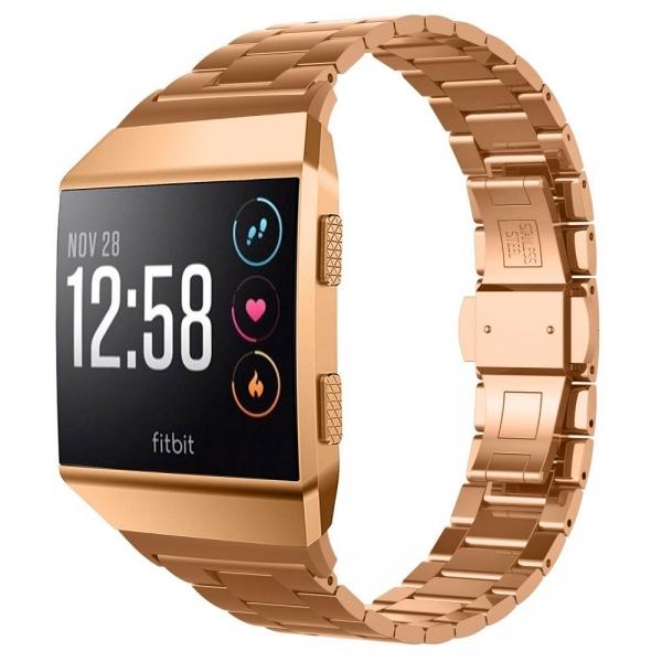 UMTELE Fitbit Ionic Paslanmaz Çelik Kayış