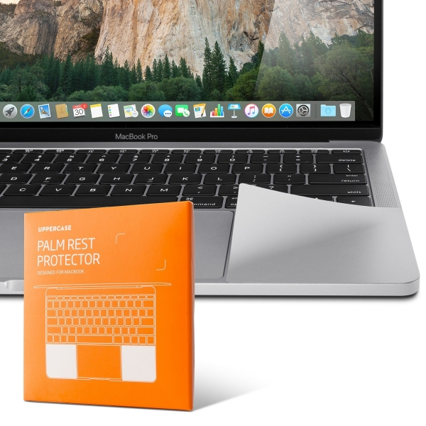 UPPERCASE MacBook Pro Palm Rest Koruyucu (16 inç/Silver)