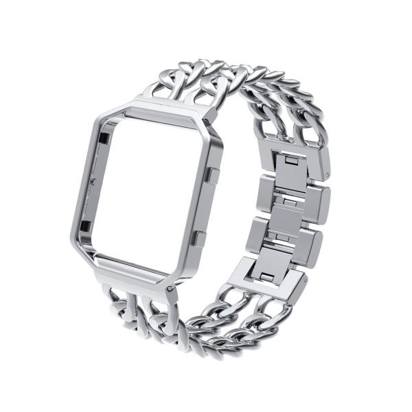 Wearlizer Lux Fitbit Blaze Metal Kayış (Küçük)