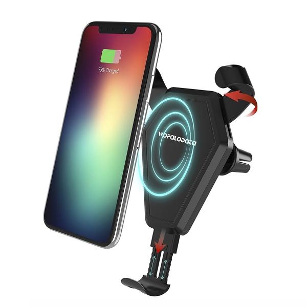 Wofalodata Araç İçin Telefon Tutucu/Kablosuz Şarj