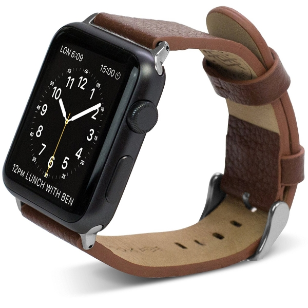 X-Doria Apple Watch Deri Kayış (38mm)