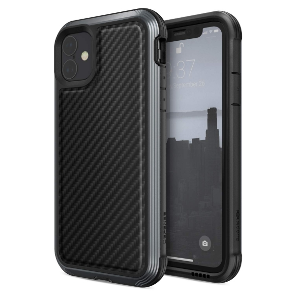 X-Doria Apple iPhone 11 Defense Lux Serisi Kılıf (MIL-STD-810G)