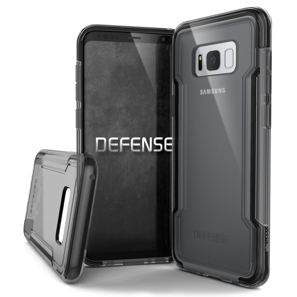 X-Doria Samsung Galaxy S8 Plus Defense Clear Serisi Kılıf (MIL-STD-810G)
