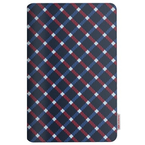 X-Doria iPad Air SmartStyle Folio Kılıf (Modern Plaid Blue)
