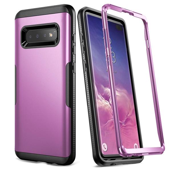 YOUMAKER Galaxy S10 Plus Slim Fit Kılıf (MIL-STD-810G)