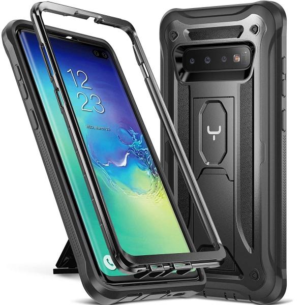 YOUMAKER Galaxy S10 Plus Kickstand Kılıf (MIL-STD-810G)
