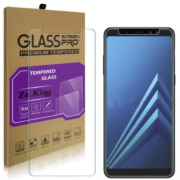ZeKing Samsung Galaxy A8 Temperli Cam Ekran Koruyucu (2 Adet)