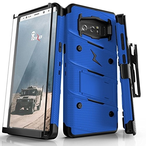Zizo Samsung Galaxy Note 8 Bolt Serisi Kickstand Kılıf (MIL-STD-810G)