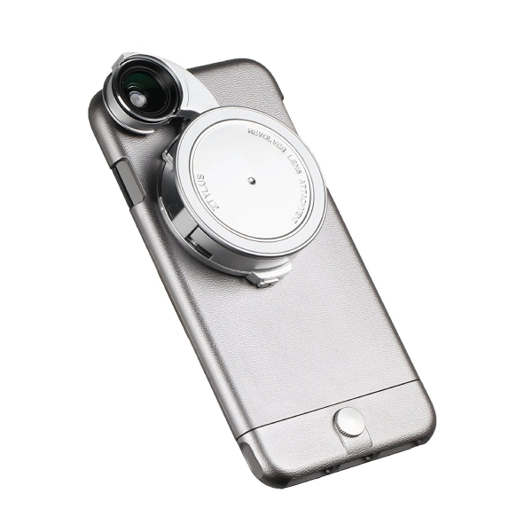 Ztylus Apple iPhone 6 Plus/6S Plus 4'ü 1 Arada Core Edition Lensli Telefon Kılıfı