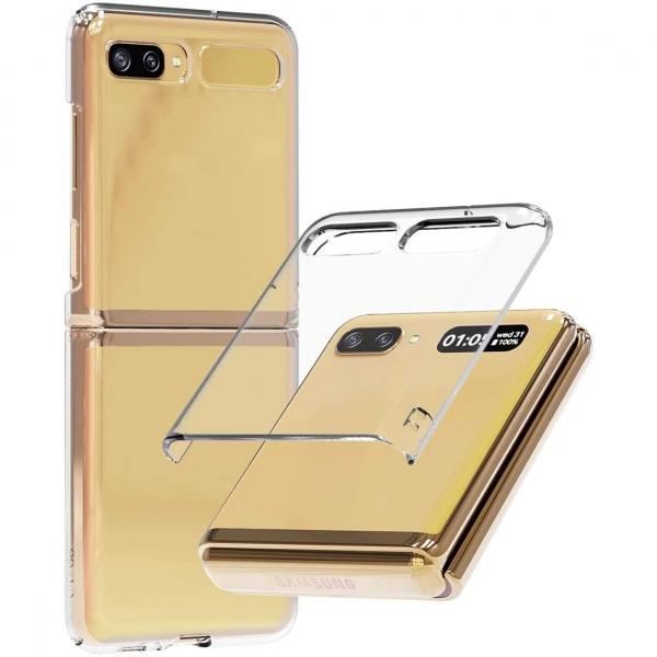 araree Samsung Galaxy Z Flip Nukin Şeffaf Kılıf