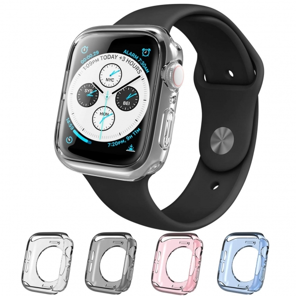 i-Blason Apple Watch 4 Halo Serisi Kılıf (40mm) (4Adet)