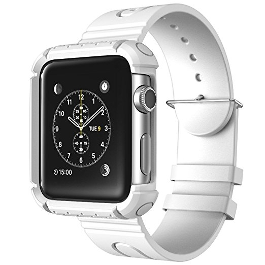 i-Blason Apple Watch Rugged Koruyucu Kılıflı Kayış (38 mm)