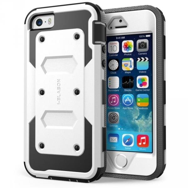 i-Blason Apple iPhone SE/5S/5 Armorbox Holster Bumper Kılıf