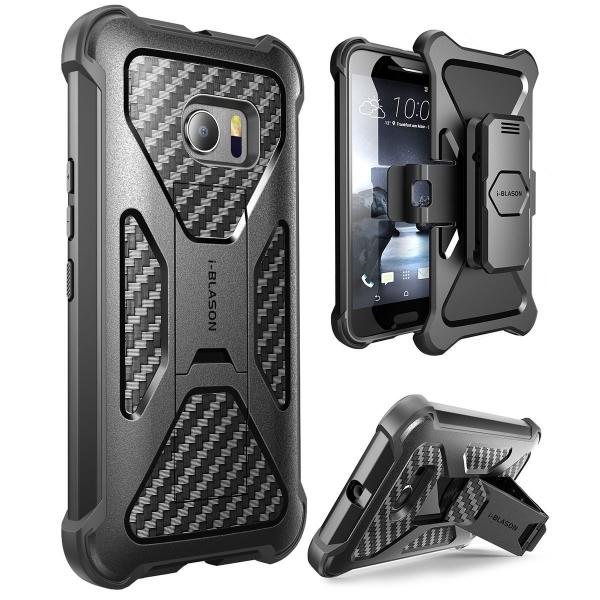 i-Blason HTC 10 Prime Kickstand Kemer Klipsli Kılıf