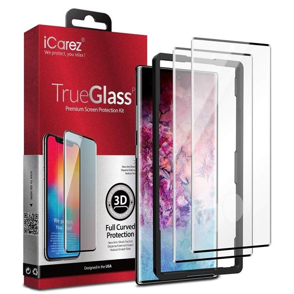 iCarez Galaxy Note 10 Temperli Cam Ekran Koruyucu(2 Adet)