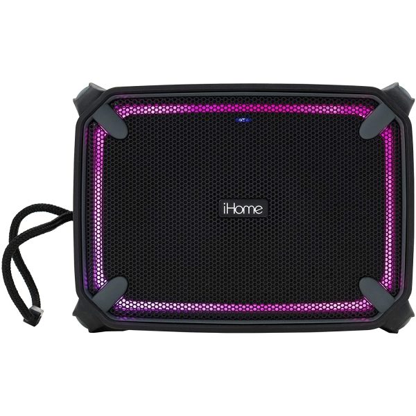 iHome IBT372 Hava Durumuna Dayanıklı Taşınabilir Şarj Edilebilir Bluetooth Hoparlör