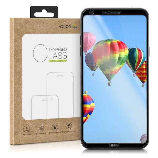 kalibri LG Q6 3D Temperli Cam Ekran Koruyucu