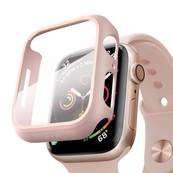 pzoz Apple Watch 4 Ekran Koruyucu Bumper Kılıf (40mm)