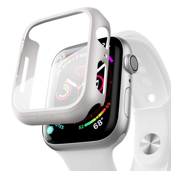 pzoz Apple Watch 4 Ekran Koruyucu Bumper Kılıf (44mm)